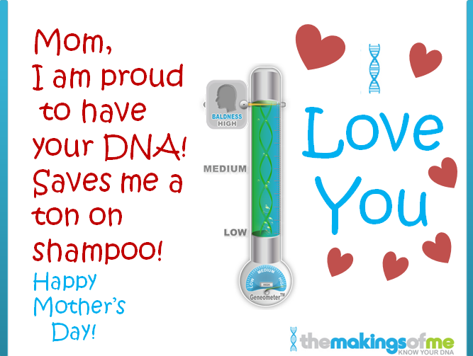 Mothers Day DNA card 1